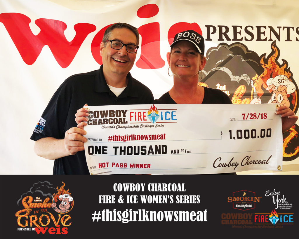 **Cowboy Charcoal Fire & Ice Women's Series HOT PASS Winner