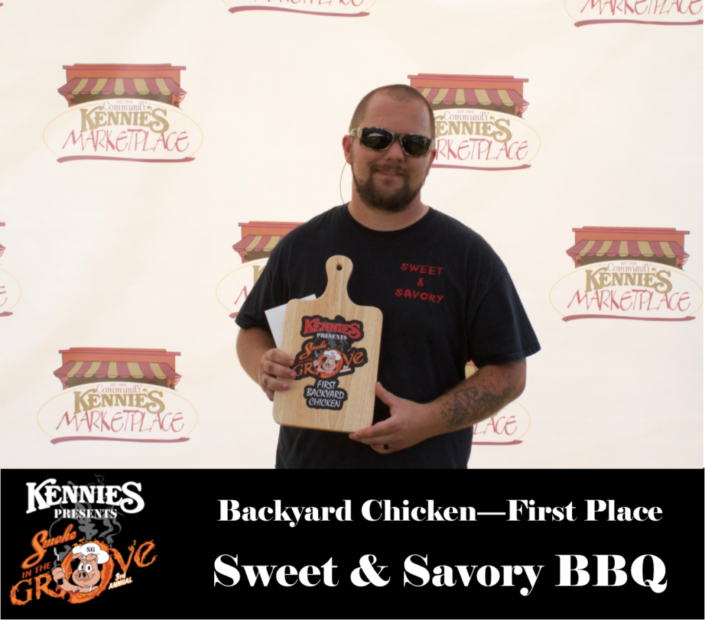 Backyard Chicken - First Place