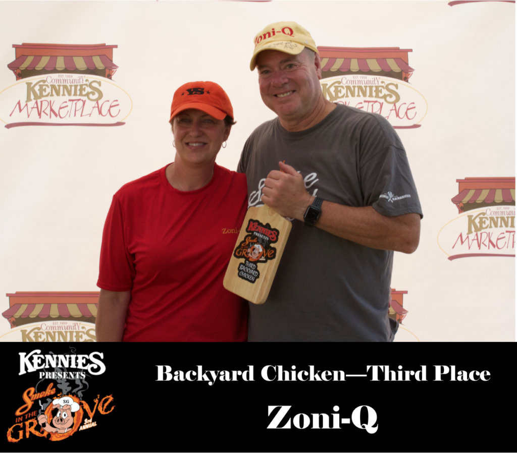 Backyard Chicken - Third Place