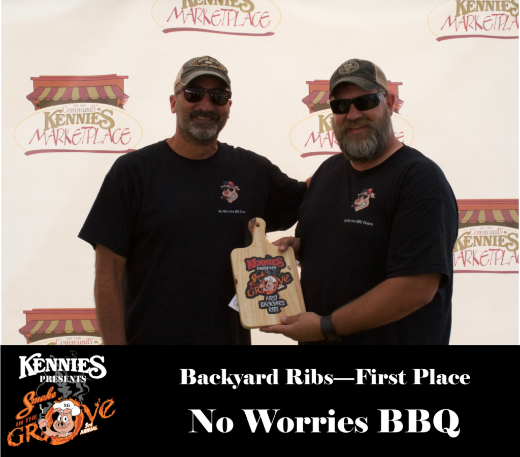 Backyard Ribs - First Place