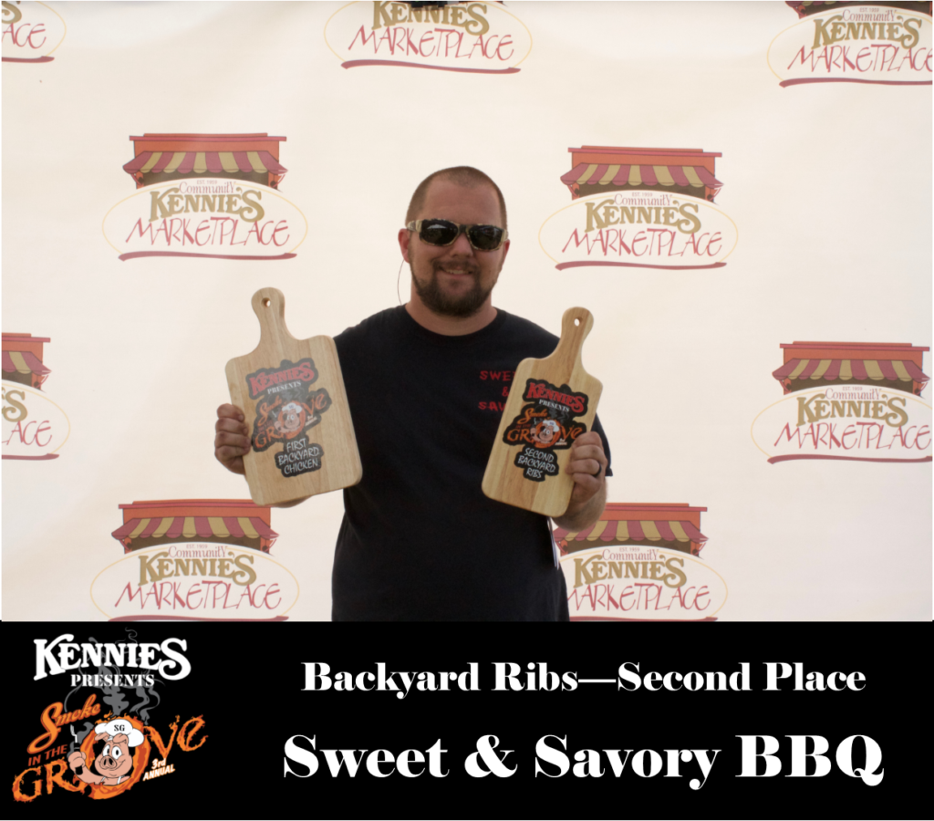 Backyard Ribs - Second Place