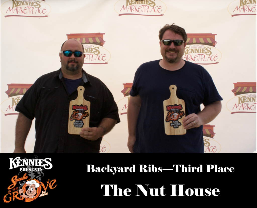 Backyard Ribs - Third Place