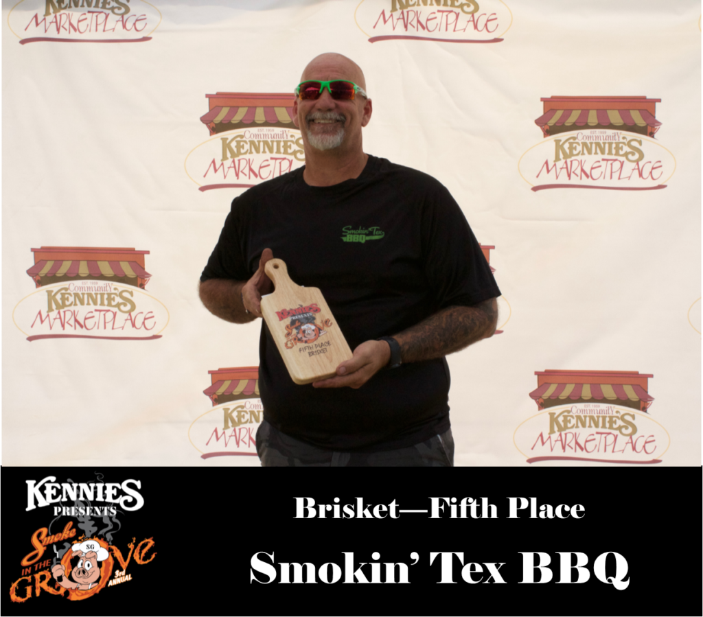 Brisket - Fifth Place