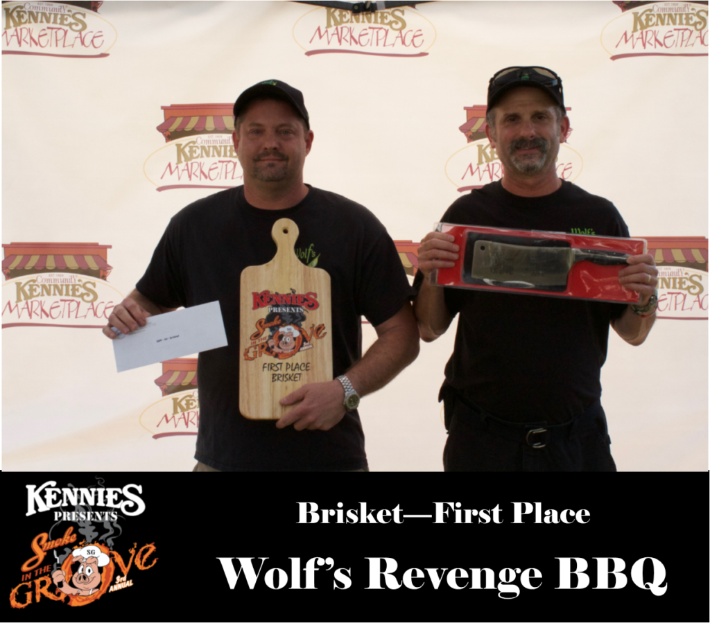 Brisket- First Place