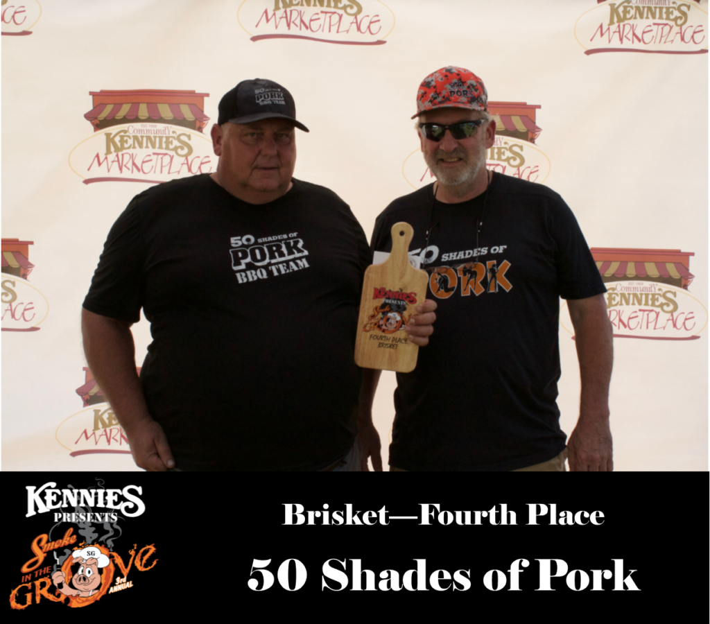 Brisket- Fourth Place