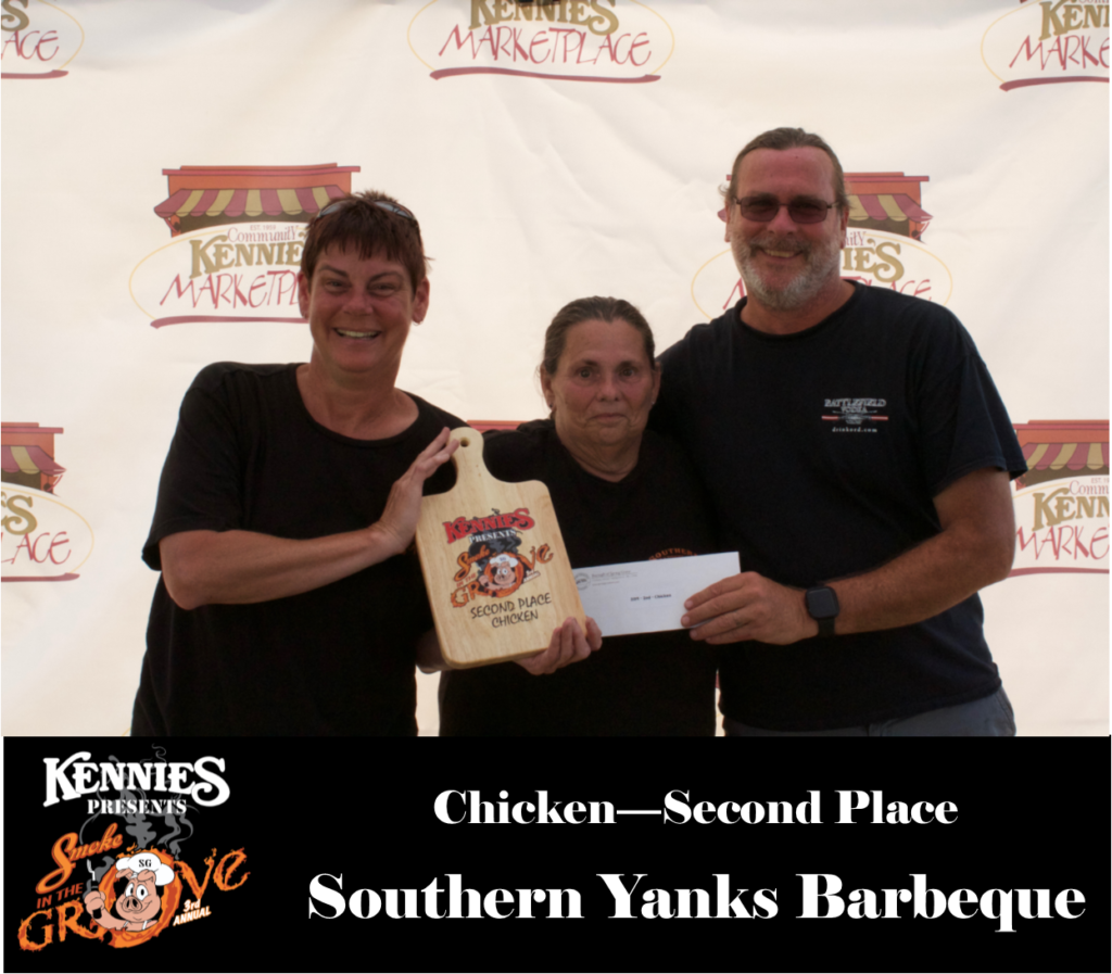 Chicken- Second Place