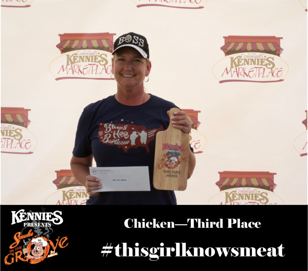 Chicken- Third Place