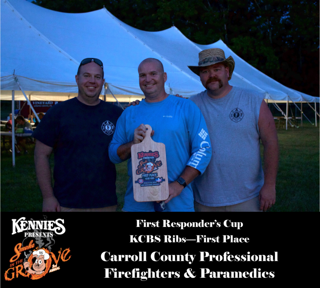 First Responder - KCBS Ribs - First Place