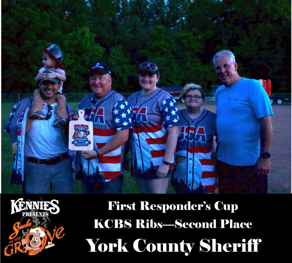 First Responder - KCBS Ribs - Second Place