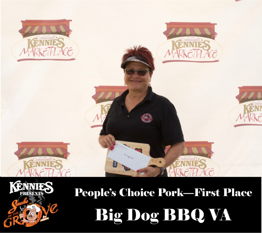 People's Choice - First Place