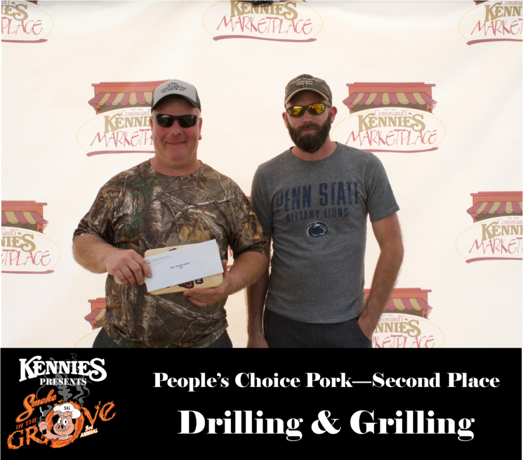 People's Choice - Second Place