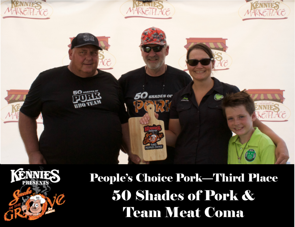 People's Choice - Third Place
