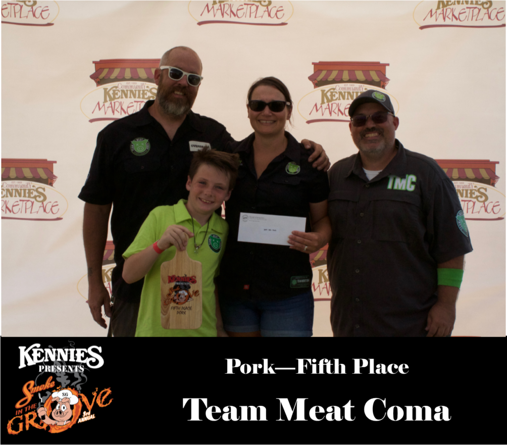 Pork - Fifth Place