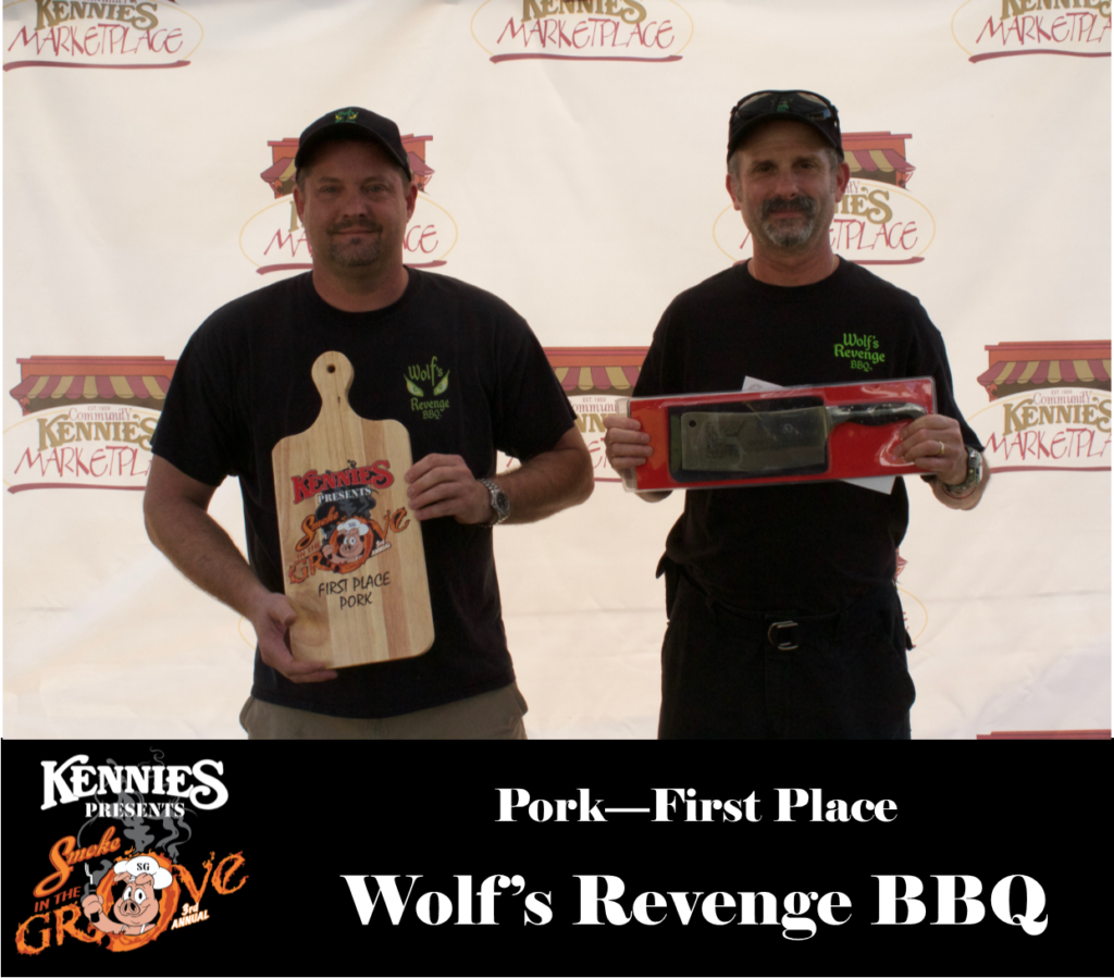 Pork- First Place