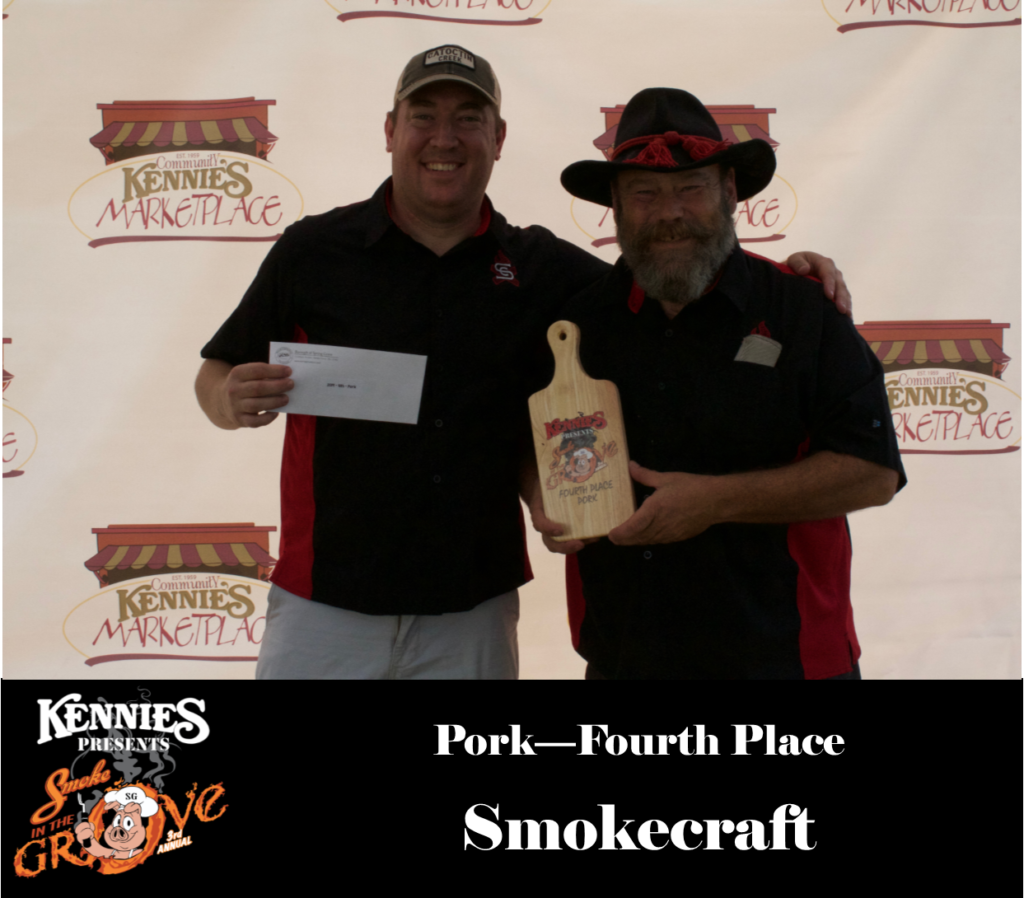 Pork - Fourth Place