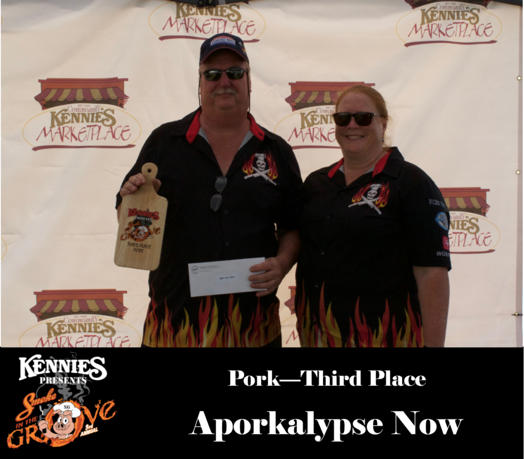 Pork- Third Place