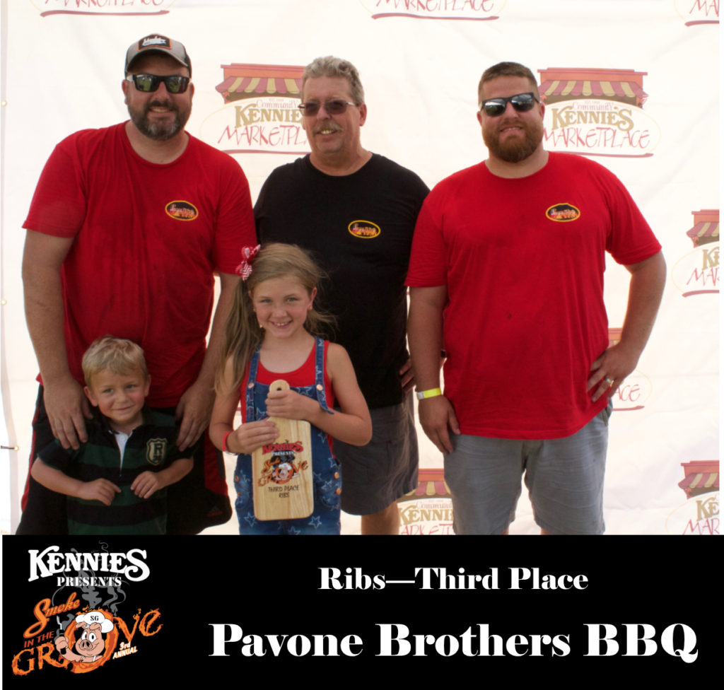 Ribs - Third Place
