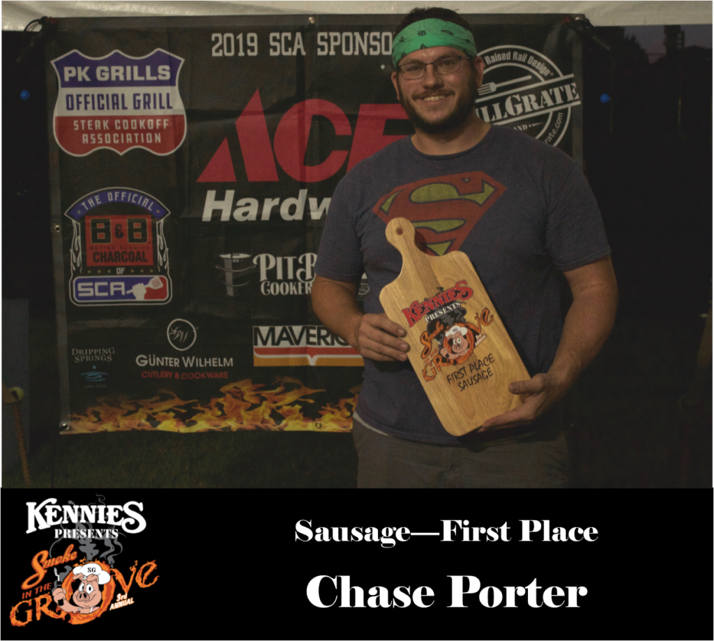 Sausage- First Place