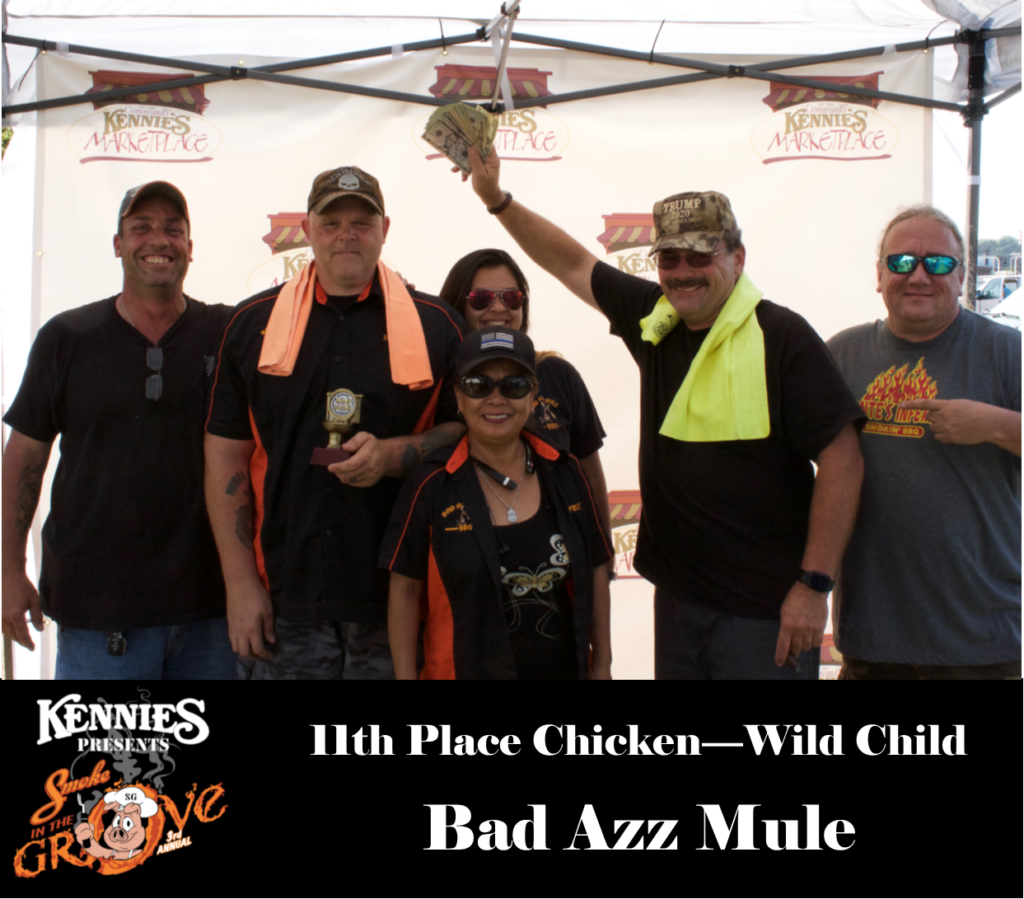 Wild Child - 11th Place Chicken