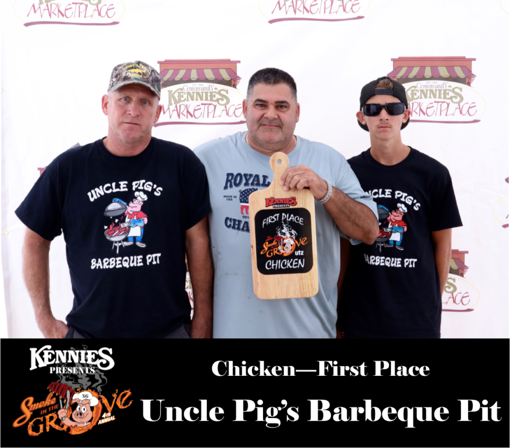 Chicken - First - Uncle Pig's