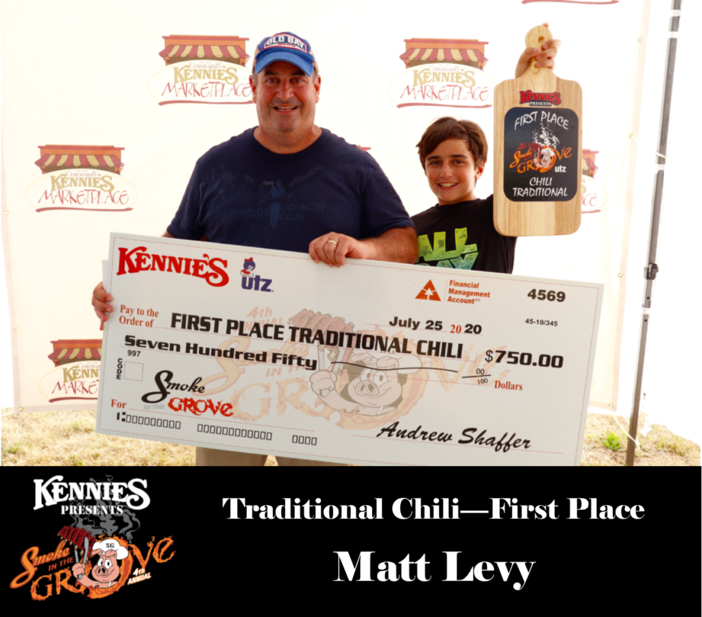 Traditional - First - Matt Levy