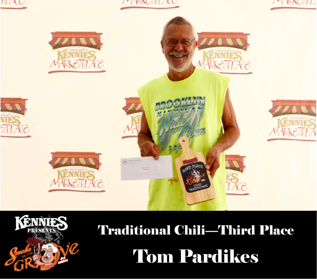 Traditional - Third - Tom Pardikes